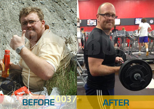 Before and After Legal Steroid usage: Tony Edwards
