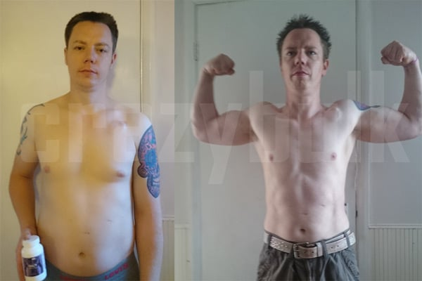 Crazy Bulk Trenorol before and after